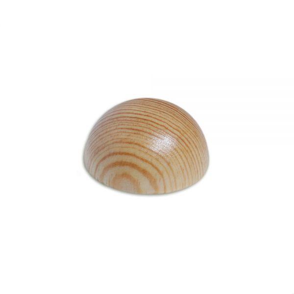 Endkappe Kiefer, verschiedene Durchmesser, für Holzhandlauf