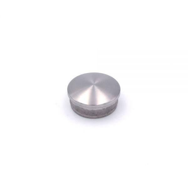 Endkappe gewölbt für Edelstahlhandlauf 42,4 mm Durchesser