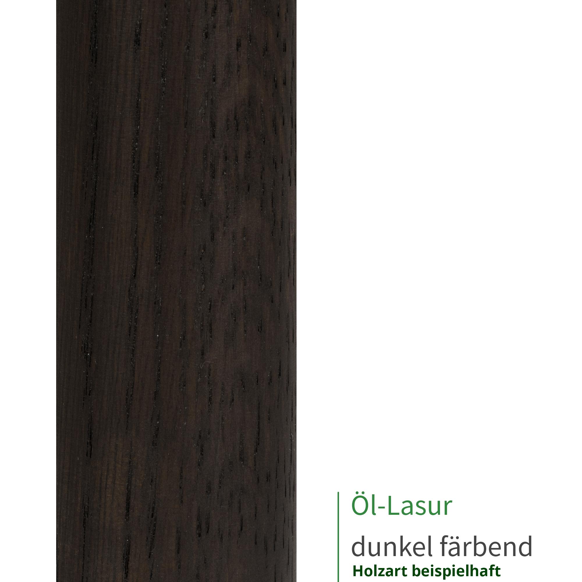 Buche Handlauf mit Radius u 430cm 5 Edelstahl-Halter Halter /Ø42mm in verschiedenen L/ängen