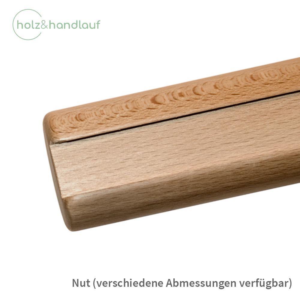 080cm Handlauf ohne Halter in verschiedenen L/ängen /Ø42mm Kiefer