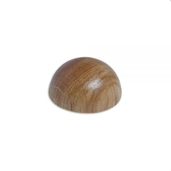 Endkappe Eiche, verschiedene Durchmesser, für Holzhandlauf